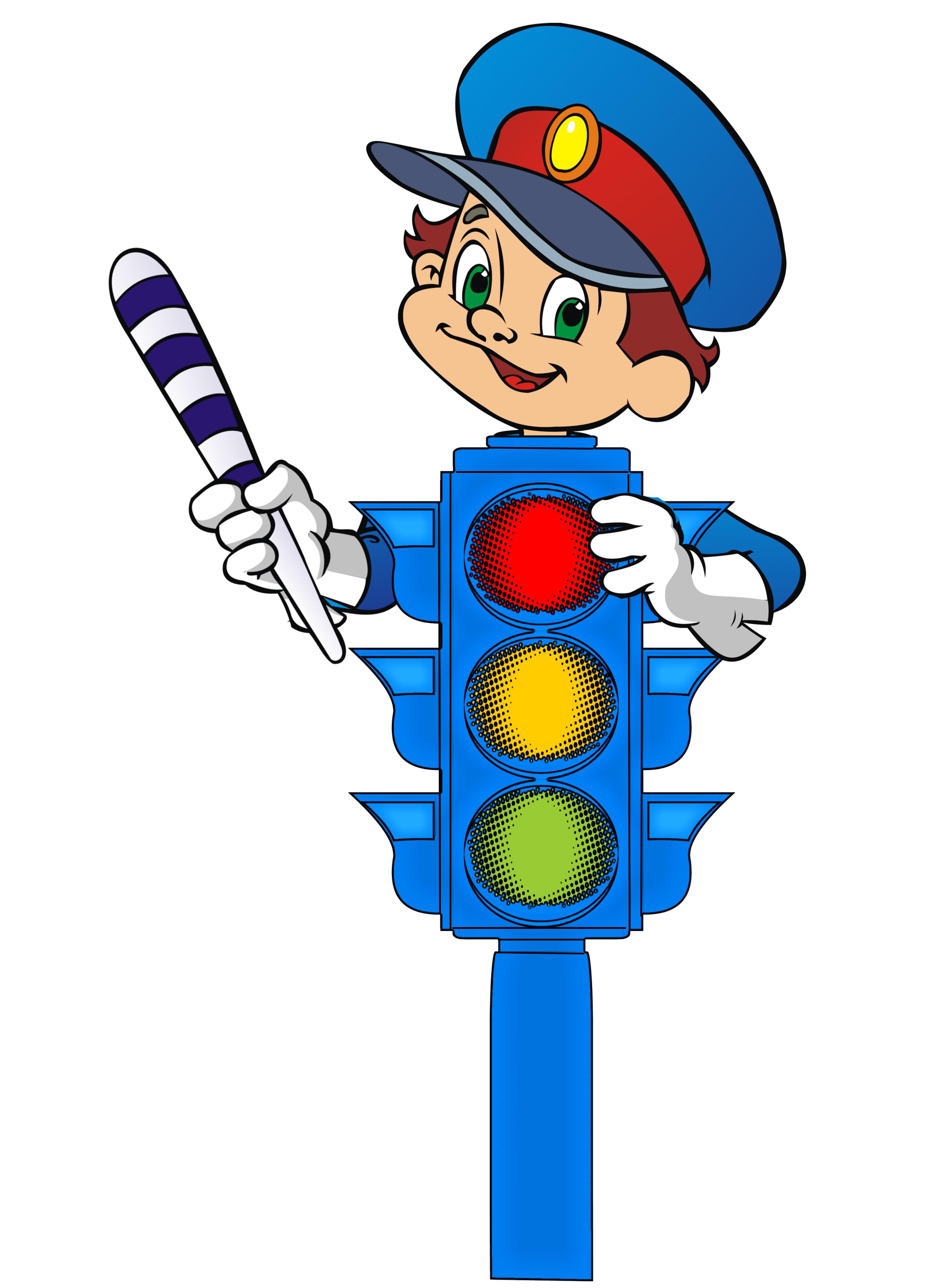 svetofor Кто знает Правила дорожного движения – тому почёт и уважение!